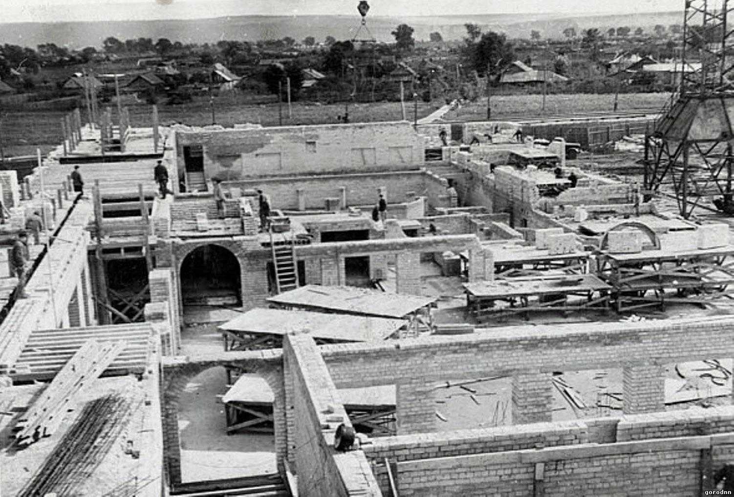 Фото начало строительства горьковского автозавода 6