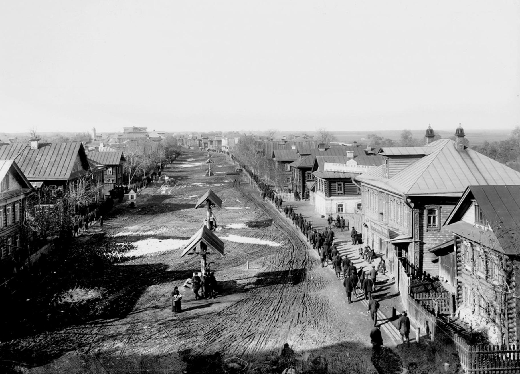 Фото старого города грязи красной площади 6